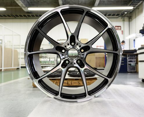 Leitspeed-Wheels_LSL01 Diamond Cut Black