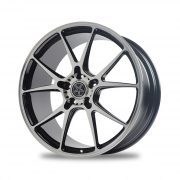 Leitspeed LSL01 DIAMOND CUT BLACK Rear