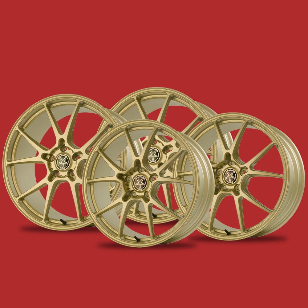 Lotus Evora forged Wheels Leitspeed LSL01 gold set