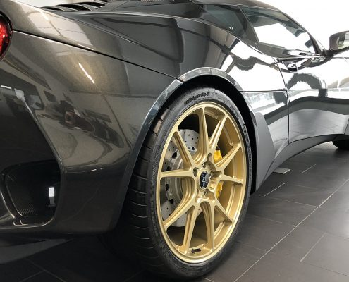 Lotus Evora GT410 Leitspeed forged wheel LSL01 gold