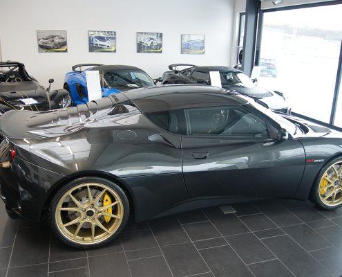 Lotus Evora GT410 Leitspeed LSL01 gold